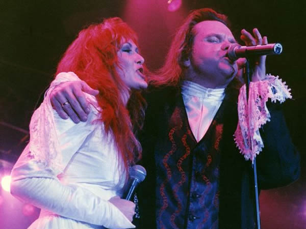 Lorraine Crosby and Meatloaf