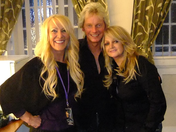 Lorraine Crosby, Stuart Emerson and Bonnie Tyler